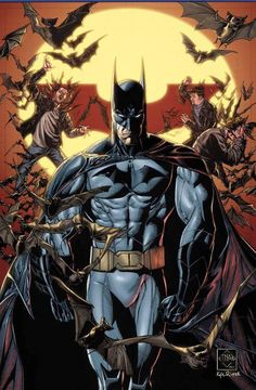 Batman by Ethan Van Sciver and Kyle Ritter *