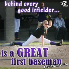 This quote fits my best friends Alyssa and Lily who play on my softball team Motivational Softball Quotes, Funny Softball Quotes, Softball Rules, Baseball Quotes, Softball Pictures, Girls Softball, Fastpitch Softball, Softball Players, Sport Quotes