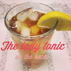 Lady Parts Iced Tea Recipe | The Body Department