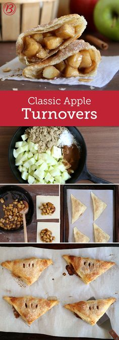 Outstanding Forgo bakery-made sweets and try making your own apple turnovers at home. It's easier than you think! The post Forgo bakery-made sweets and try making your own apple turnovers at home. It's easier than you think!… appeared first on Recipes . Easy Desserts, Delicious Desserts, Yummy Food, Homemade Desserts, Fall Recipes, Sweet Recipes, Sweet Puff Pastry Recipes, Easy Pastry Recipes, Top Recipes