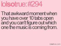 happens so many times, though usually it's some ad playing over my music!