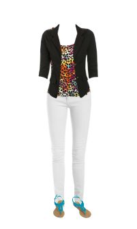 WetSeal.com Runway Outfit:  chettah by ONE DIRECTION.