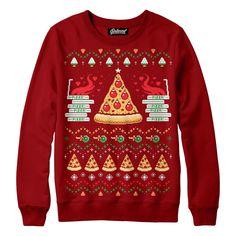 $59 Pizza Holiday Sweatshirt