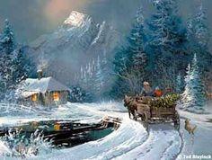 postales navidad navidenas ilustraciones 01