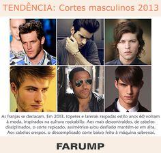 Está planejando mudar o visual? Aposte nas tendências de cortes masculinos para 2013.