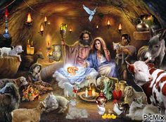pictures of baby jesus with mary and joseph Christmas Jesus, Christmas Nativity Scene, Christian Christmas, Christmas Images, Merry Christmas, Xmas, Maurice Careme, Christmas Arts And Crafts, Happy Birthday Jesus
