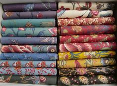 Dutch Chintz, fabrics love to browse and own lots of it!