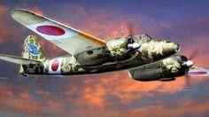 1944 Kawasaki Ki-45 Ko Kai Toryu 'Nick' - T. Hasegawa Hoshino- arte de la caja 53a Vuelo Código regimiento: 93 Matsudo AB