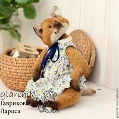 Купить лиса Килиса - рыжий, карамельный, лиса, лисица, лисичка, друзья тедди, авторская игрушка