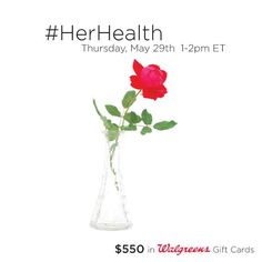 Her Health Twitter Party Info #shop #cbias #herhealth
