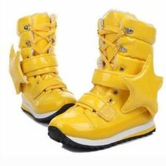 Star boots that remind me of Rainbow Brite...and awesomeness...