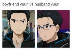 Boyfriend vs husband Yuri