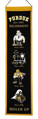 History of Purdue logos