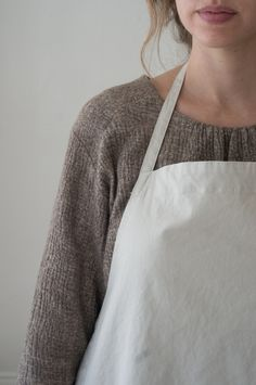 Mason Studio Apron - This apron, a collaboration with San Francisco-based Small Trade Company, was made for us to wear while working in our Mason Street studio. - from QUITOKEETO.com