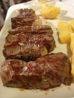 Entrecot de ternera retinta. Retinta beef from extensive cattle. Cadiz, Andalusia, Steak, Spanish, Paradise, Food, Ox, Beef, Cow