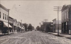 RP: Broadway (dirt) , BLAIR , Wisconsin , PU-1908 Item# SCVIEW423609 (272671026)