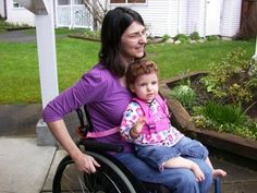 stroller for wheelchair parents - Google Search