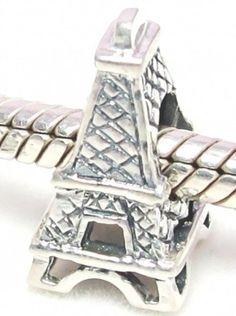 B24 Solid Sterling Silver Paris Eiffel...
