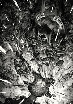 The Book of Tyrael on Behance
