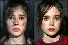 "Ellen Page es Jodie Holmes en ""Beyond: Two Souls"""