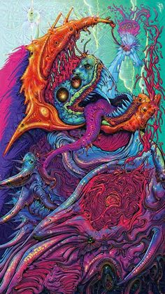 I let Googles Deep Dream App dream about the Hyper Beast