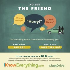 How would you handle it? Talk with your teen during National Teen Driver Safety Week about being smart behind the wheel.