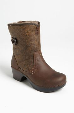 Dansko 'Harper' Boot ...I wonder what these would be like.  I love Dansko shoes.