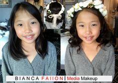 Jasmines lovely daughter was a #FlowerGirl in her Aunts #wedding #weddingguest #asianmakeupartist #kidsmakeup&hair