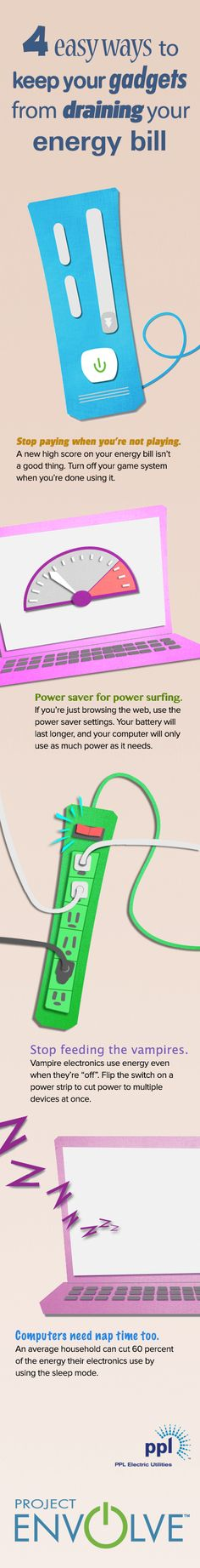 How Much Energy Do Your Gadgets Use? (And How You Can Lower It) #ProjectEnvolve #GetEnvolved