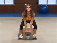Get ripped with this strength workout move. Jillian Michaels uses kettlebell exercises to shred your muscles and help you burn fat. For full selection of great workouts like this one, go to the BeFit Channel on YouTube at: http://www.youtube.com/befit Check us out on Facebook at: http://www.facebook.com/lionsgatebefit Follow us on T...