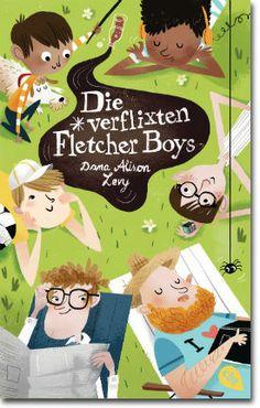 Die verflixten Fletcher Boys von Levy, Dana Alison, Kinderbücher, Kinderliteratur, Alltag & Familie, Freundschaft