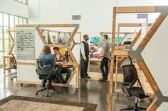 Cubicles Made From The Detritus Of Demolished Buildings | Co.Design | business + design