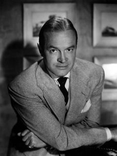Bob Hope - he may not have had the classic good looks, but wit, charm, intelligence and good manners made more than up for it.