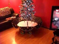 Snowing christmas tree,   merry christmas everyone!