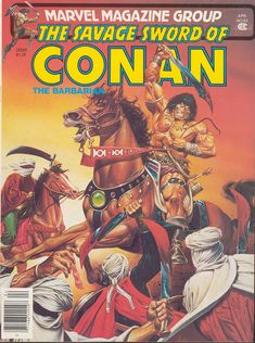The Savage Sword Of Conan Issue - Read The Savage Sword Of Conan Issue comic online in high quality Conan Comics, Marvel Comics, Marvel Magazine, Ed Roth Art, Howard The Duck, Savage Worlds, Jesus Painting, Beowulf, Dungeons And Dragons Characters