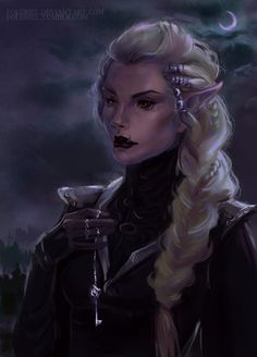 "Hey, guys! Yep, I'm still alive. And I even try to draw something. Sorry for this long silence. I had some trouble with health and money, but it's all right now.  This is Miralissa, dark elf from trilogy by Alexey Pehov ""Chronicles of Siala"". No,..."