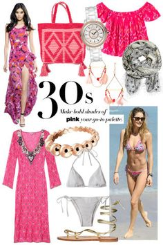 Shop the best beach fashion for every age group—from your 20s to 70s: