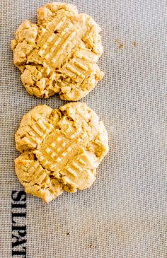 Two Thick & Soft Peanut Butter Cookies – Yeah…Immaeatthat