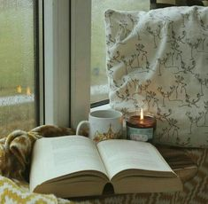 That candle is waaay too close to that pillow! --- Reading at the Cafe Candle by Frostbeard Studio - Customer photo Bibliophile - Book Lover - Literary Gift - Book smell - Librarian Gift - Bookish I Love Books, Good Books, Hygge, Gifts For Librarians, Relax, Literary Gifts, Book Aesthetic, Autumn Aesthetic, Coffee And Books
