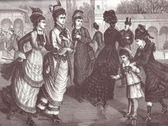 NYC's roller skating fad of 1884