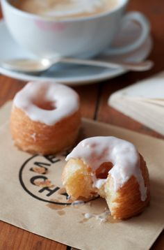 A sweet orange glaze takes this cronut over the top.