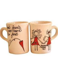 friendship mugs