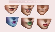 Lip Practice + Free Practice Sheet! by Meep-and-Mushrat.deviantart.com on @DeviantArt  #lip #practice #free resources #render #photoshop #semirealism #realism #sakimichan #tutorial #sketches #sketch #art