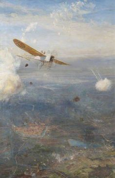 Ypres to the Sea by William Lionel Wyllie.  Date painted: 1915