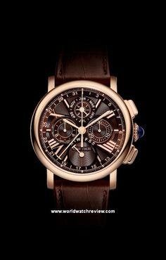 Cartier Rotonde de Cartier Perpetual Calendar Chronograph in rose gold