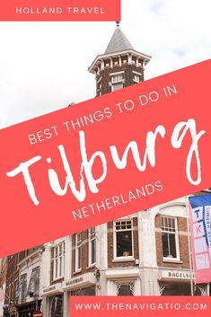 A local guide to the best things to do in Tilburg, including the best places to eat, to stay and information about the best day trips - Check it out! European Destination, European Travel, Best Places To Eat, Cool Places To Visit, Stuff To Do, Things To Do, Travel Through Europe, Holland Netherlands