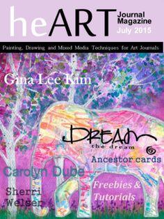 Heart Journal Magazine July 2015 Digital Download Only by heARTJournalMagazine on Etsy