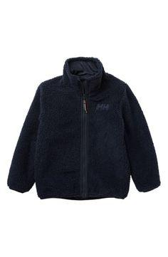 Helly Hansen Reversible Fleece Jacket (Toddler Boys & Little Boys) Helly Hansen, Lightweight Jacket, World Of Fashion, Kids Boys, Little Boys, Luxury Branding, Hooded Jacket, Nordstrom