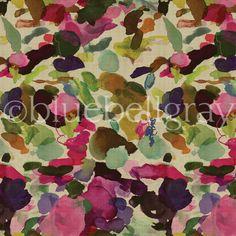 James Autumn Fabric from Bluebellgray.com. A Scottish textile design company.