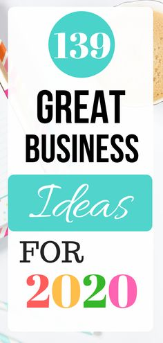 This list includes 139 great business ideas that can help you find success in 2020 and beyond. How can I start my own business with no money?